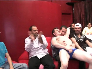 A hawt meaty stripper one-eyed monster for this party Striptease XXX Gay Porn Tube Video Image