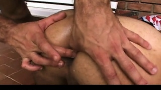 Adam and Rob outdoor gay assfucking part1