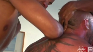 Andy Star Sweaty PAinful 3 Way Part 1
