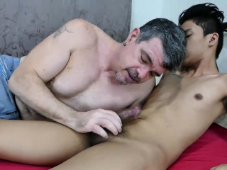 Asian Boy Idol Fucks Daddy Mike Asian XXX Gay Porn Tube Video Image