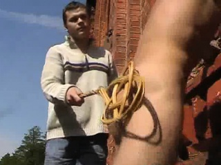 Ass Spanking And Cumshots Outdoor Men BDSM XXX Gay Porn Tube Video Image