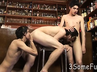 Boys Night Out Ends Up With A 3sum At A Local Bar Asslick XXX Gay Porn Tube Video Image