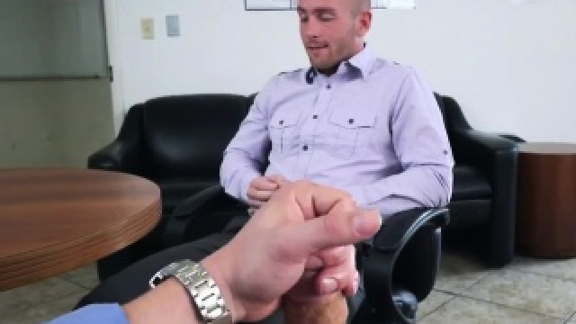 College Physical Gay Porn Chris Keeping The Boss Happy