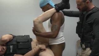 Gay hot white police men jerking off movies