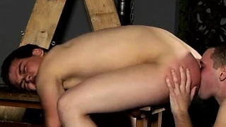 Gay sexy male bondage videos A Red Rosy Arse To Fuck