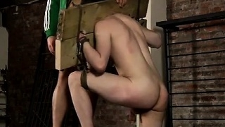 Gay white socks bondage His throat is shortly utter of Deaco