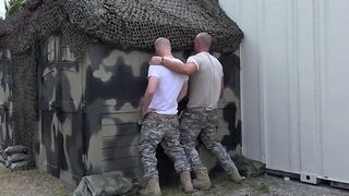 Group Anal Military Muscly Gay Soldiers Rough