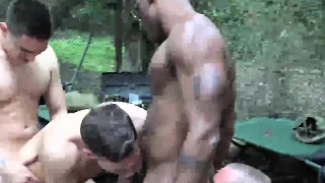 Hardcore Anal Sex Outdoor With Sexy Ass Soldier For You