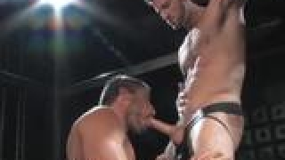 Logan Scott and Rusty Stevens hardcore action