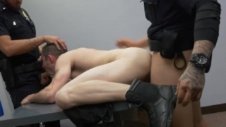 Male handsome gay sexy police nude photo