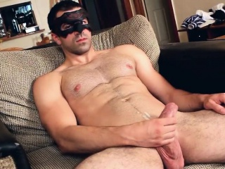 Masked dude pulling his dick off part5 Cum Tributes XXX Gay Porn Tube Video Image