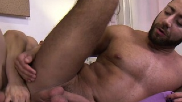 Muscle Boy Anal Sex And Creampie