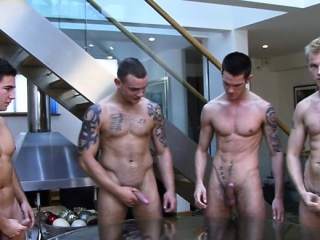 Muscle gay rimjob and cumshot Cumshot XXX Gay Porn Tube Video Image