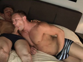 Muscle son bareback with cumshot Bareback XXX Gay Porn Tube Video Image
