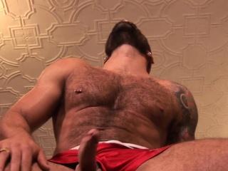 Muscular bear assfucking foot lover until cum Cum Tributes XXX Gay Porn Tube Video Image