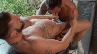 RagingStallion Bearded Hunks Pounding Hot Ass