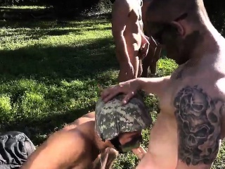 Sexy Army Gays Fucking Photos Taking The Recruits On Their V