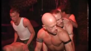 Sexy nasty kinky bondage gay orgy part3