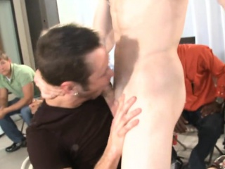 That guy receives his white ass fucked by the stripper Striptease XXX Gay Porn Tube Video Image
