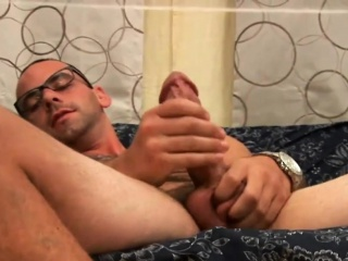 Touching and posing his unbeliveable body Cum Tributes XXX Gay Porn Tube Video Image
