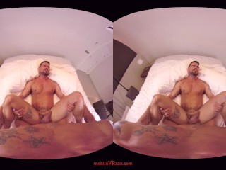 """Tough Guys"" Gay VR Porn From VirtualRealPorn"