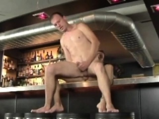 Two Horny Guys Fucking In A Bar Twinks XXX Gay Porn Tube Video Image