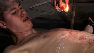 Video-gay-skin-piss-bondage-his-boner-is-encaged-and-unable_01