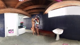 VR Bangers – [360°VR] Two Lesbians LICKING Each Other before SKINNY DIPPING