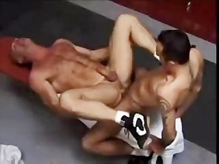 Wrestling coach with BIG schlong. Nice cock action. Fetish XXX Gay Porn Tube Video Image